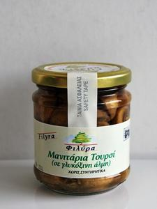 Pickled Mushrooms (in Sweet and Sour Brine)