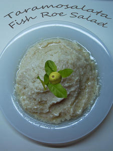 Taramosalata - Fish Roe Salad